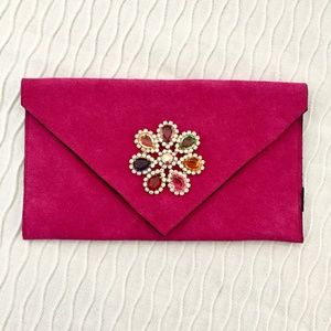 Handbags - Pink Clutch/Purse